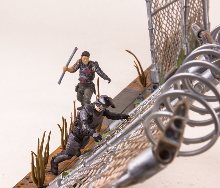 Prison Gate And Fence Walmart Exclusive