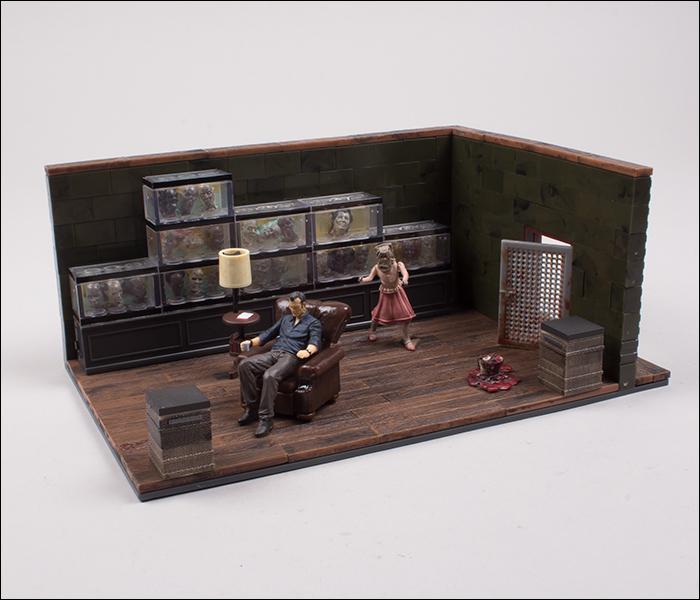 AMC The Walking Dead McFARLANE Governatore/'S ROOM Building Set 292 PEZZI NUOVO CON SCATOLA