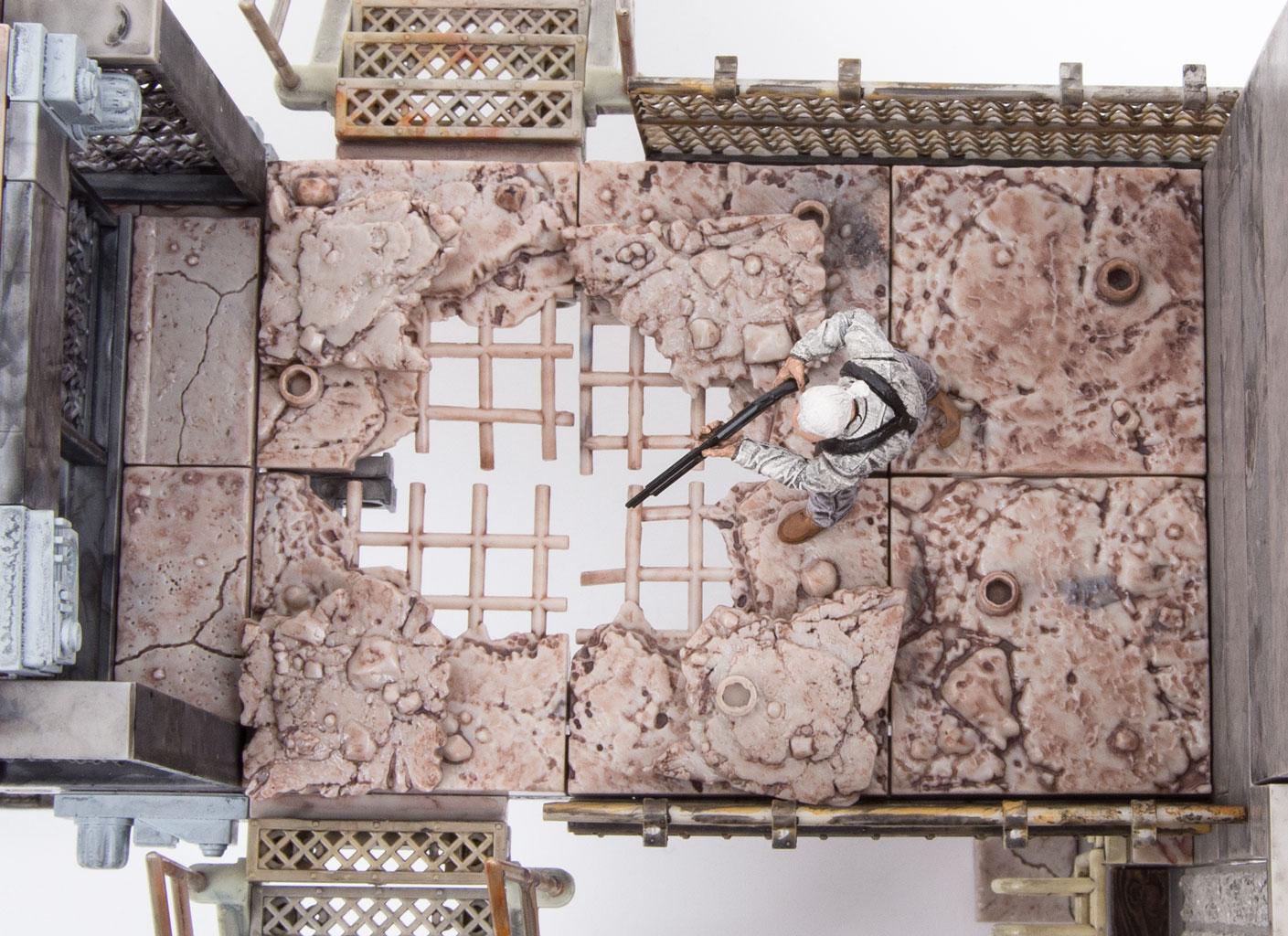 Prison Catwalk Construction Set