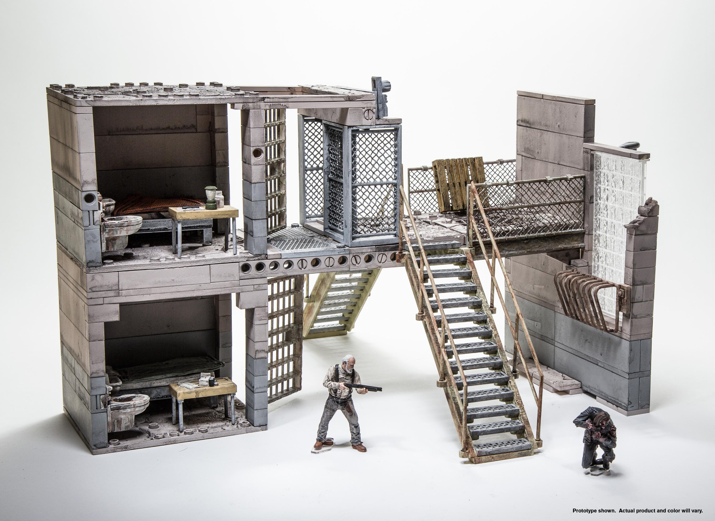 Building Toys Sets : Prison catwalk construction set