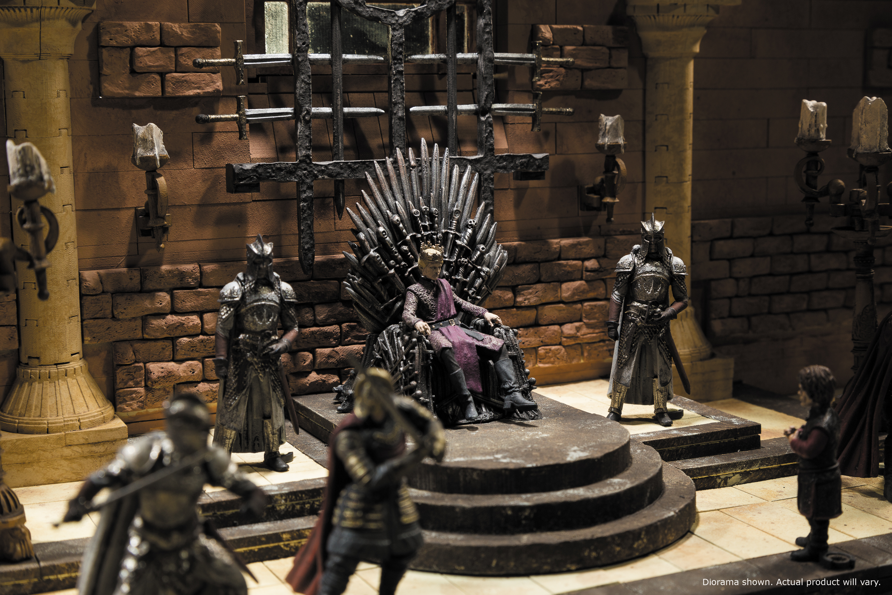 Game Of Thrones Toys : Iron throne room construction set