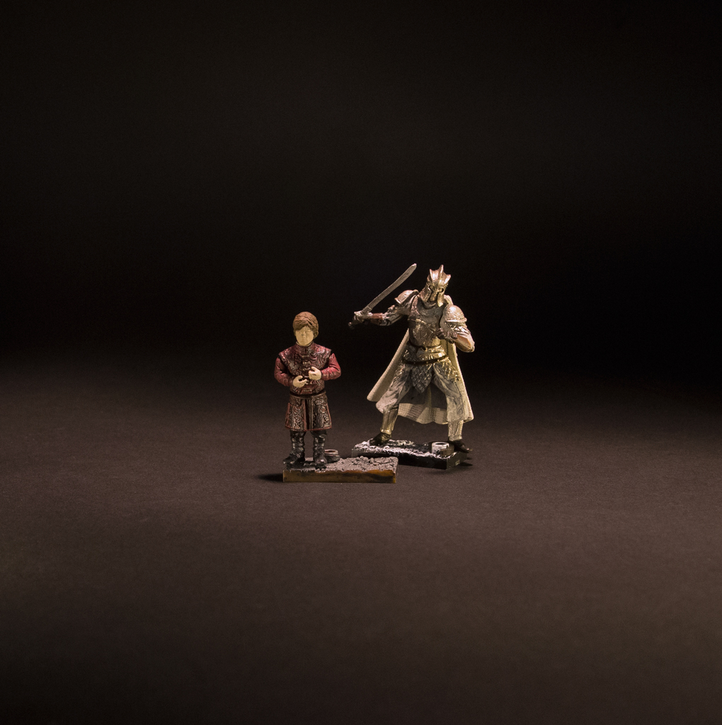 Blind figures game