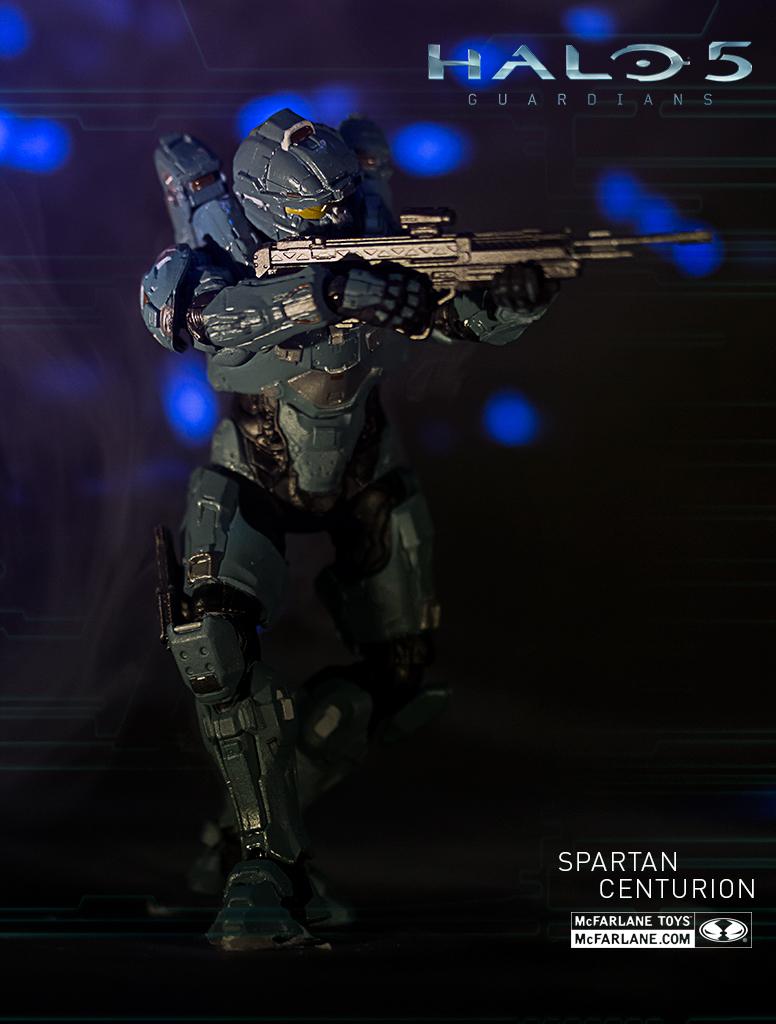 Halo 5 Target BRAND NEW SPARTAN CENTURION Figure by McFarlane