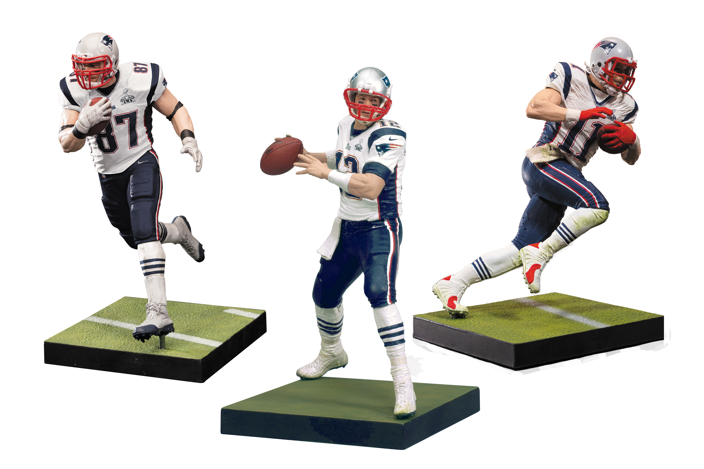 NFL Patriots Super Bowl 3Pack