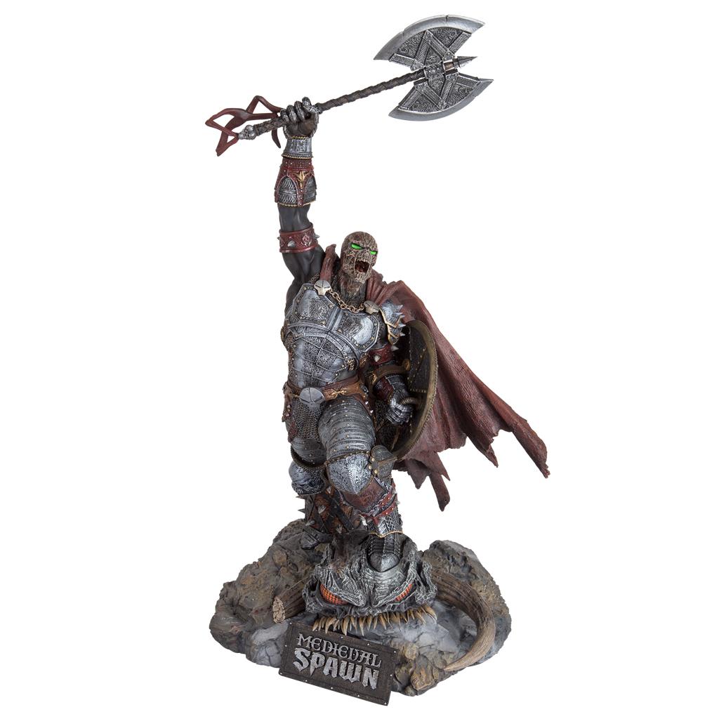 Medieval Spawn Resin Statue