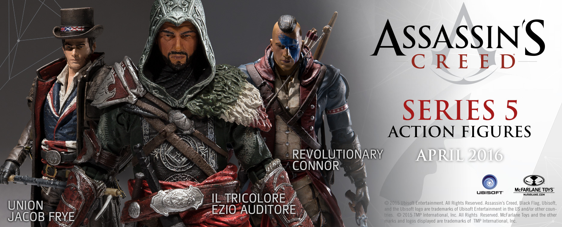all new figures in assassin s creed series 5. Black Bedroom Furniture Sets. Home Design Ideas