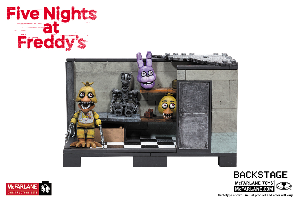 Backstage construction set brand five nights at freddy s genre video