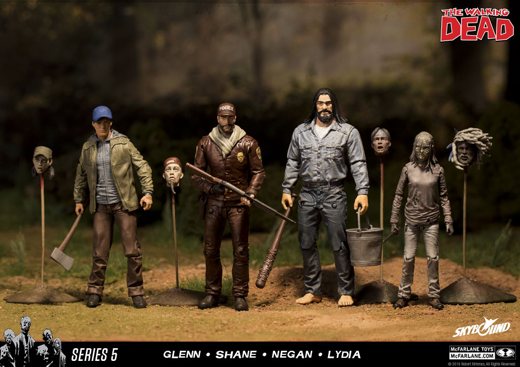 comics McFarlane Toys Lydia - série 5 The Walking Dead