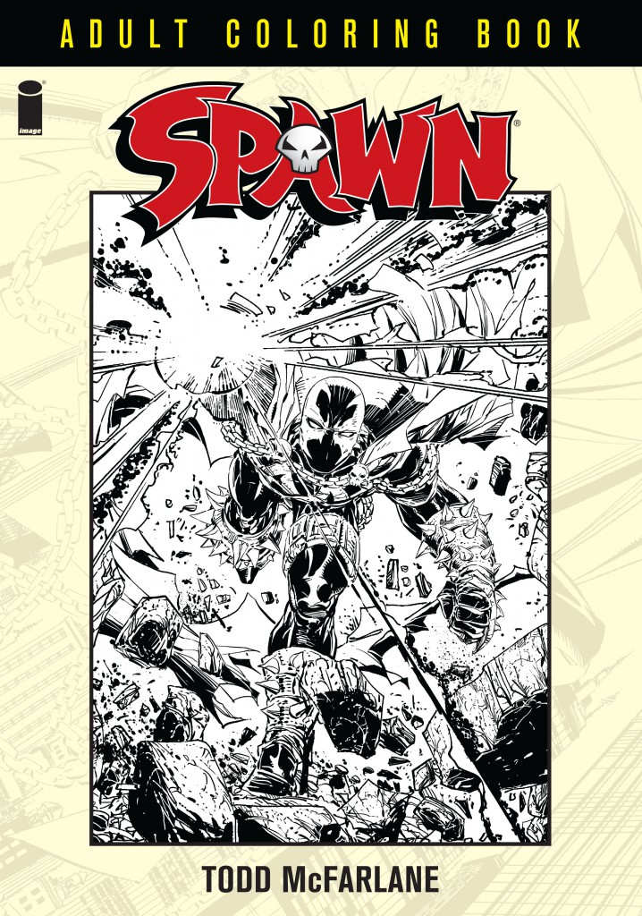 Spawn Coloring Book COVER