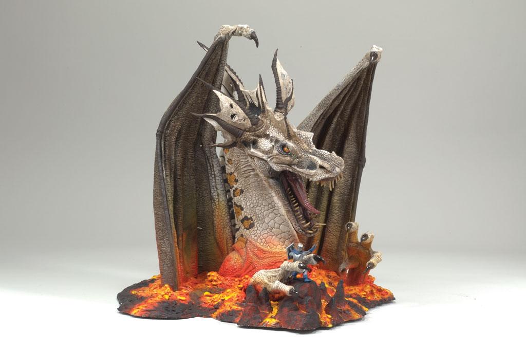 FIRE DRAGON CLAN 5 DELUXE BOX SET McFARLANE/'S DRAGON McFarlane Toys