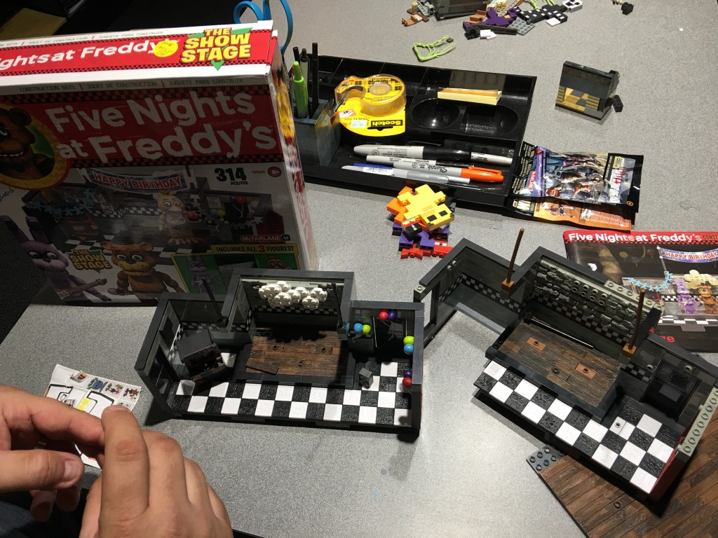 Customize Your Five Nights At Freddy S Construction Sets