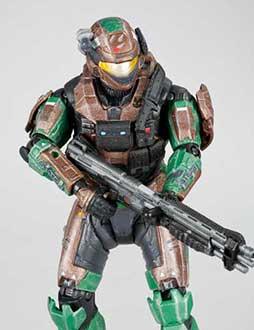 Spartan Military Police Custom (Team Blue)
