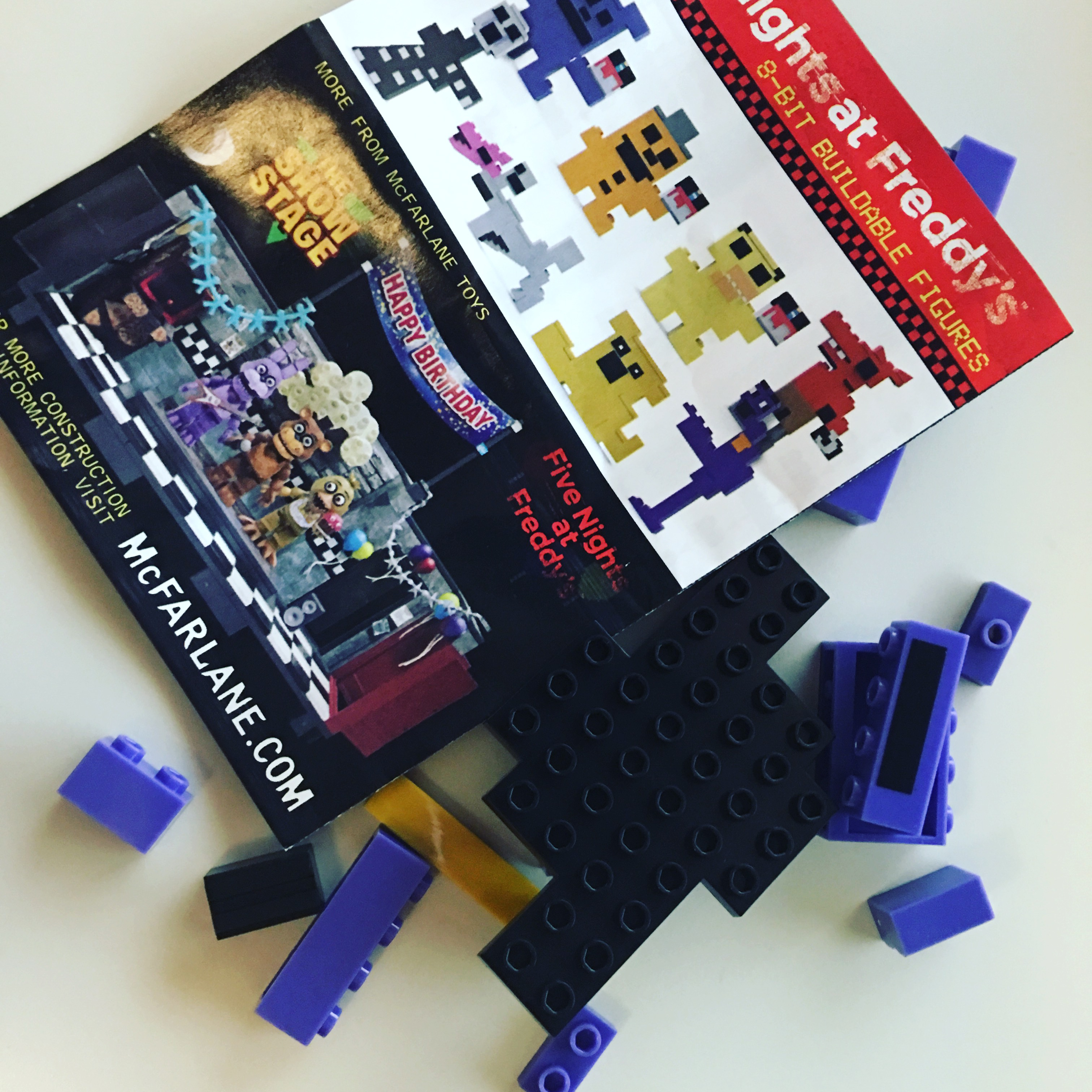 More five nights at freddy s construction sets coming soon - Click Here For More Details On The Five Nights At Freddy S 8 Bit Characters