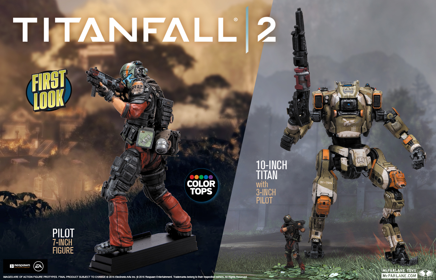 Mcfarlane Toys Titanfall 2 Figures Coming This Fall