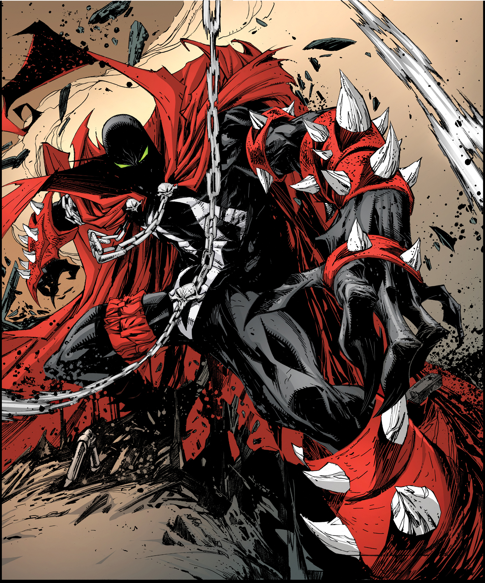 Art Of Comics And Manga: Sexy Spawn Art And A Chance To Get Into A Spawn Comic