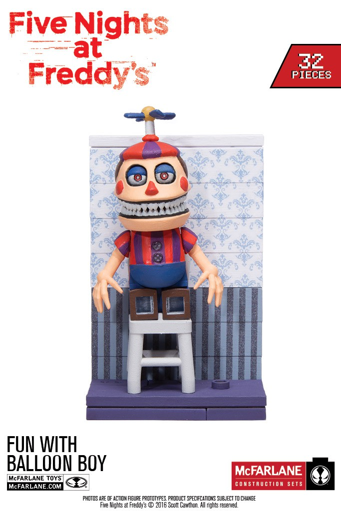 Five Nights At Freddy S Fall 2016 Construction Sets In