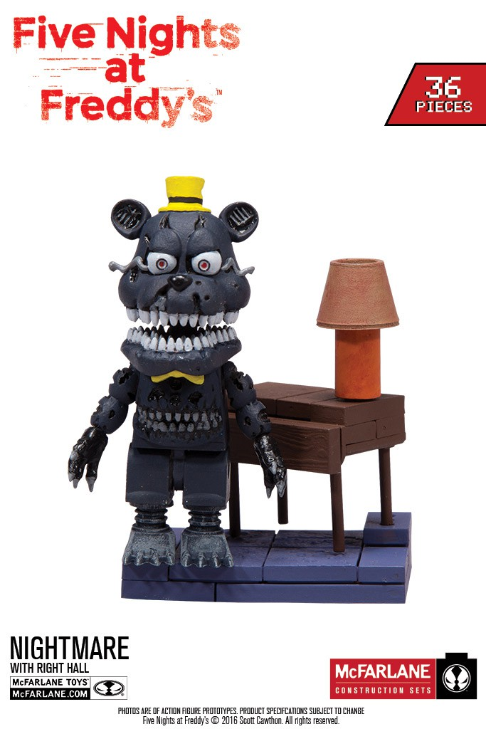 Five Nights at Freddy's Fall 2016 Construction Sets… In Stores Now