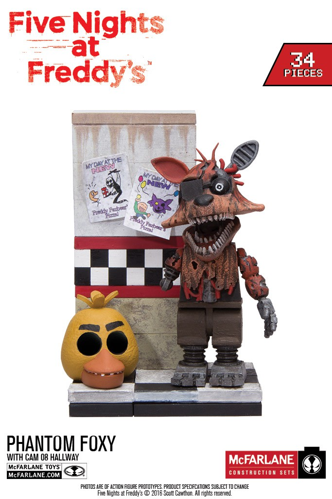 FIRST LOOK at NEW Five Nights at Freddy's Construction Sets