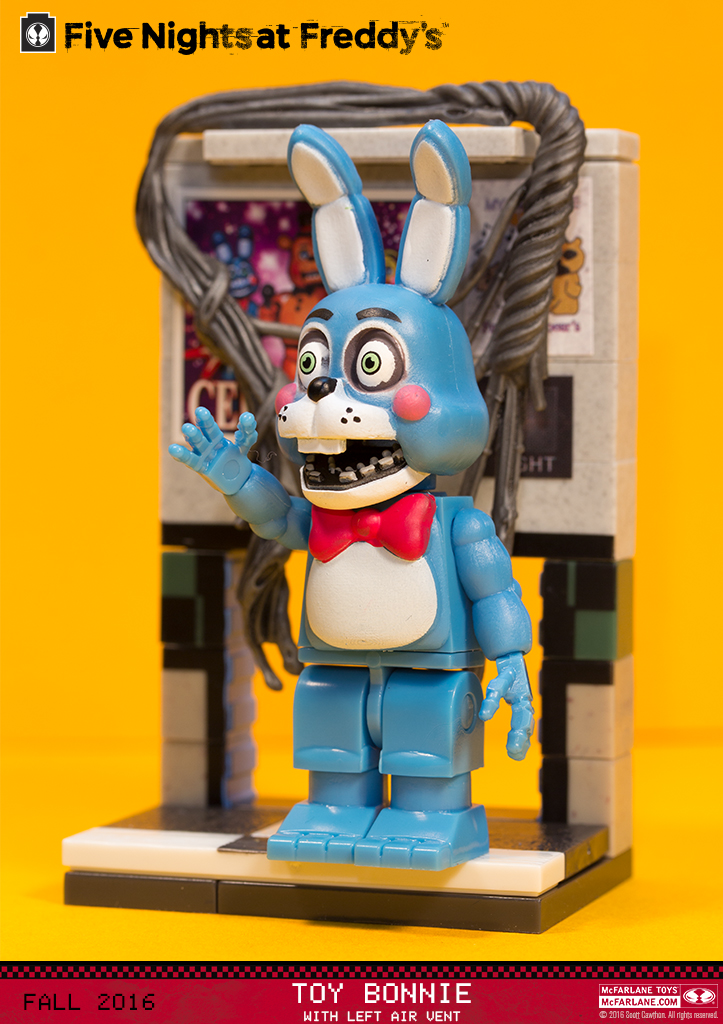 Toy Bonnie With Left Air Vent