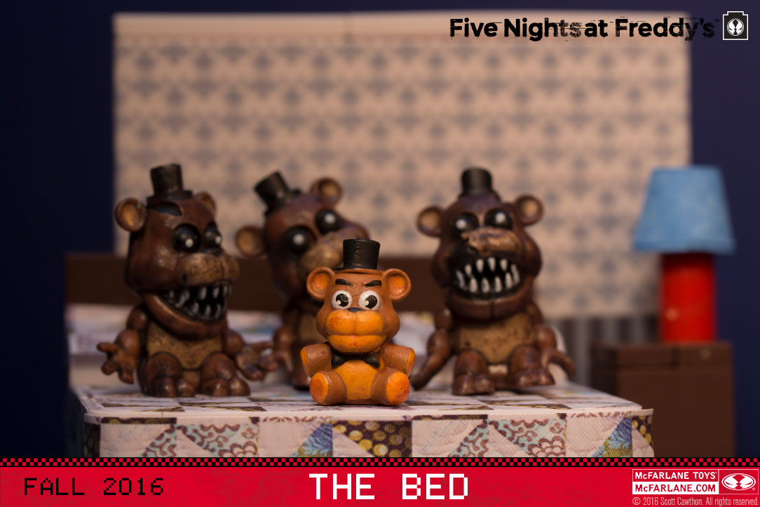 The bed with nightmare freddy brand five nights at freddy s genre