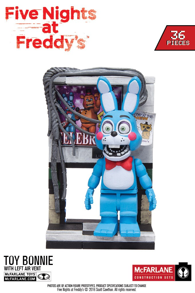 First Look At New Five Nights At Freddy S Construction Sets