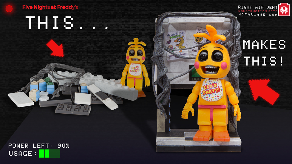 TOY CHICA WITH RIGHT AIR VENT