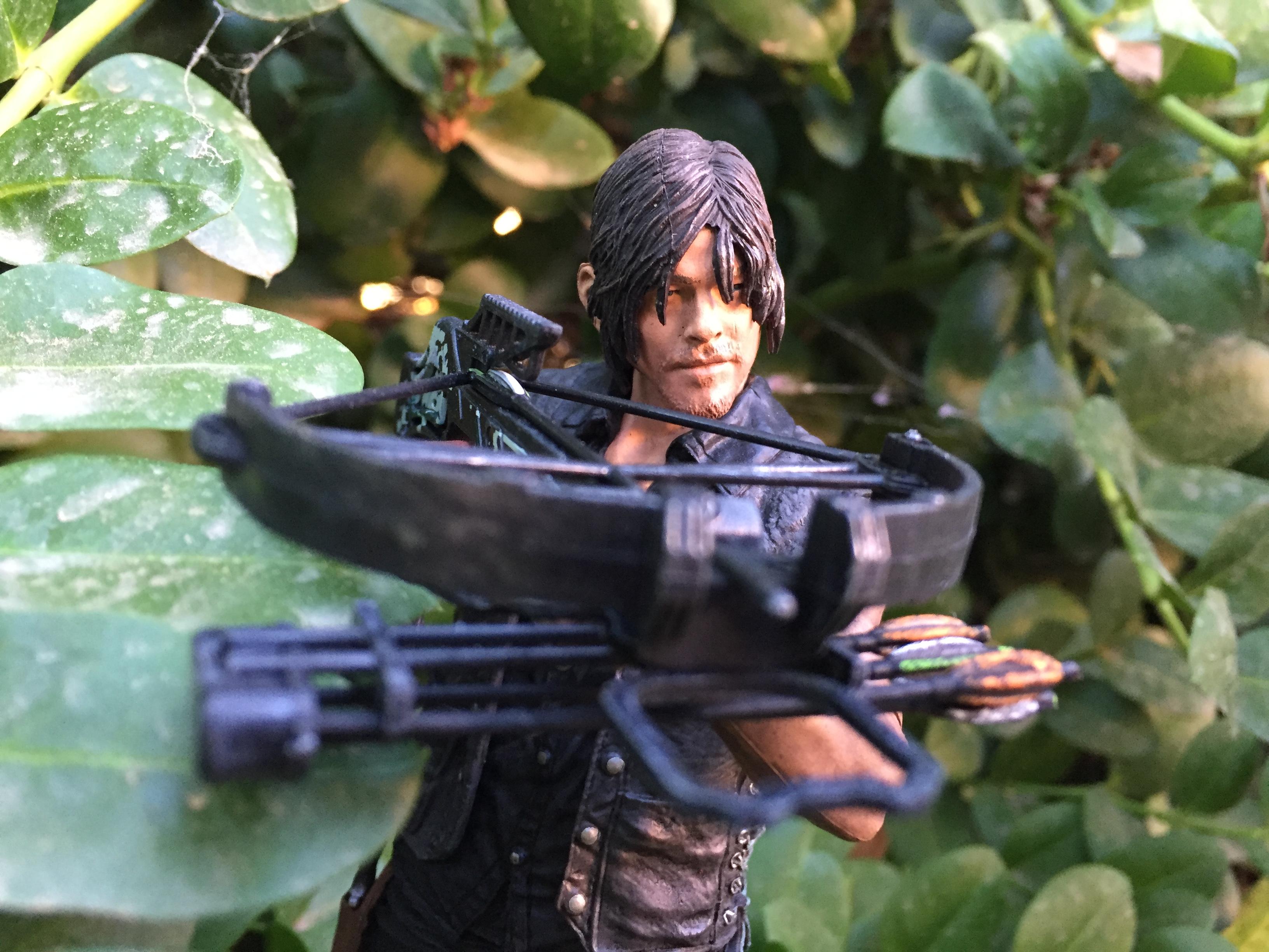 Mcfarlane walking dead series 6 daryl dixon action figure - 7 Inch Daryl 5