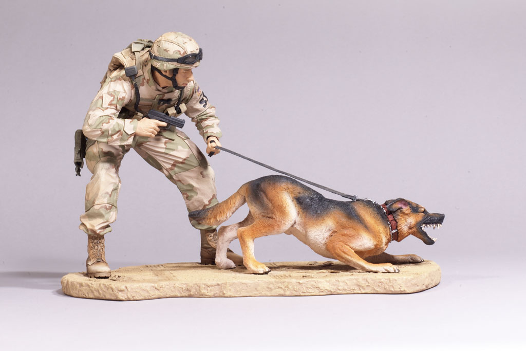 Air Force Security Forces K-9 Handler