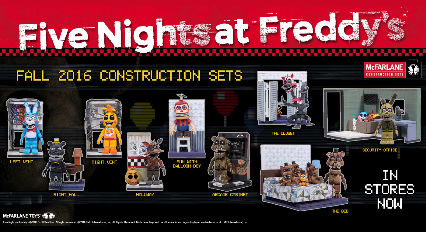 Five Nights At Freddy S Mcfarlane Com The Home All