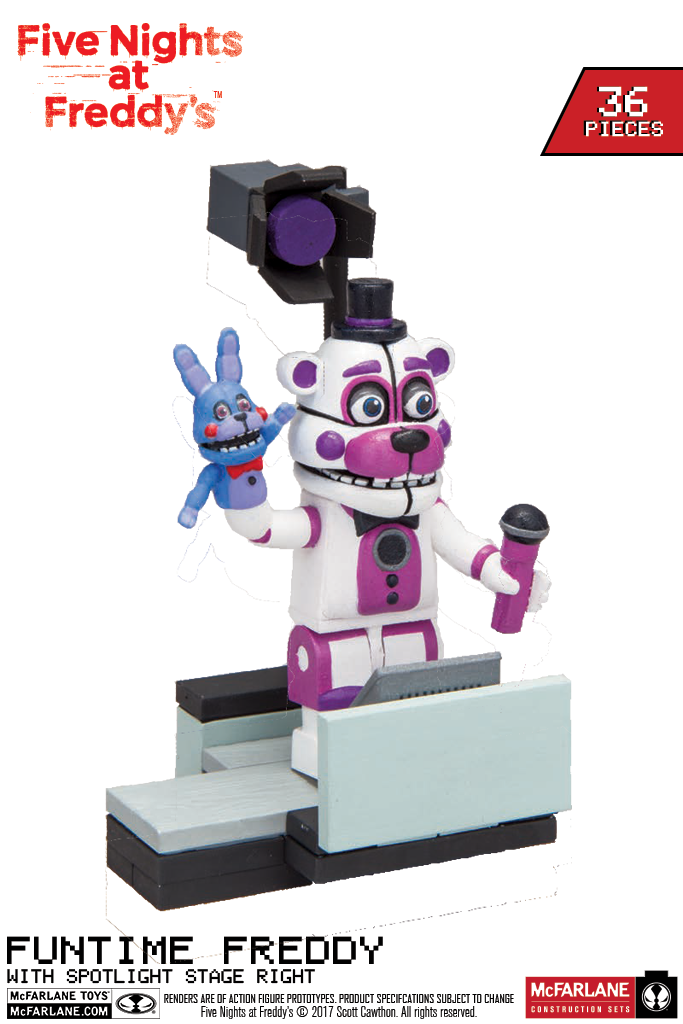 Brick 101 Highlights Fnaf Wave 3 From New York Toy Fair