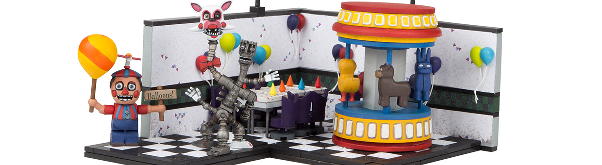Behind The Scenes with FNaF Game Area