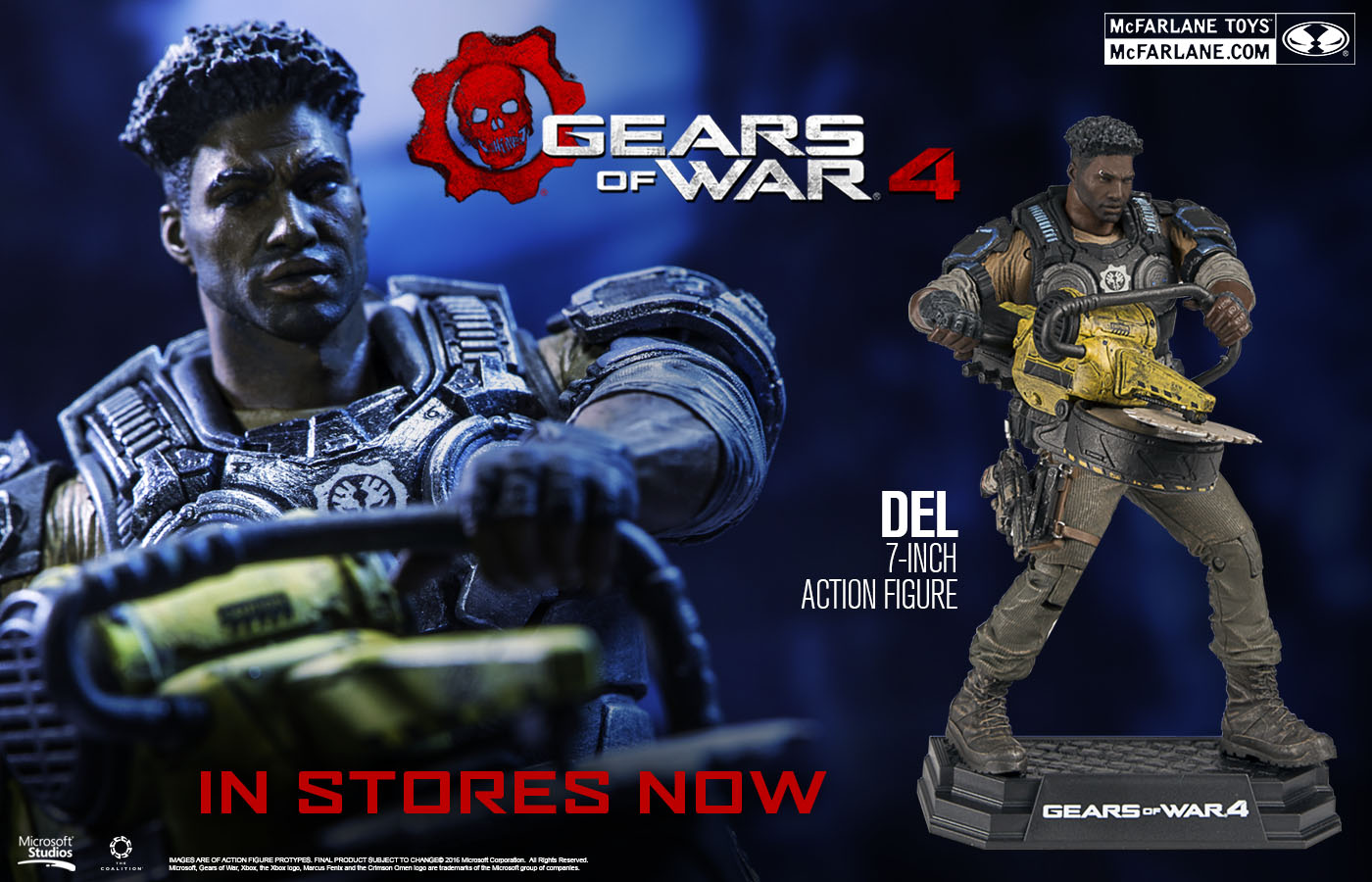 GOW Del slider IN STORES NOW