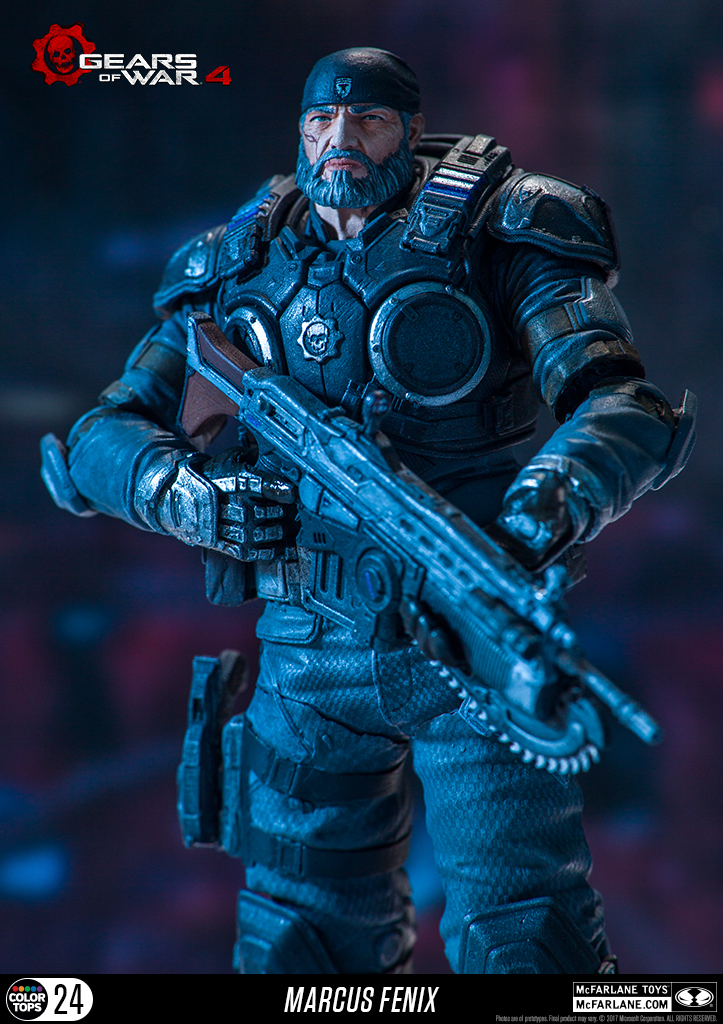 Image result for GEARS OF WAR 4 - MARCUS FENIX MCFARLANE TOYS ARTICULATING FIGURE