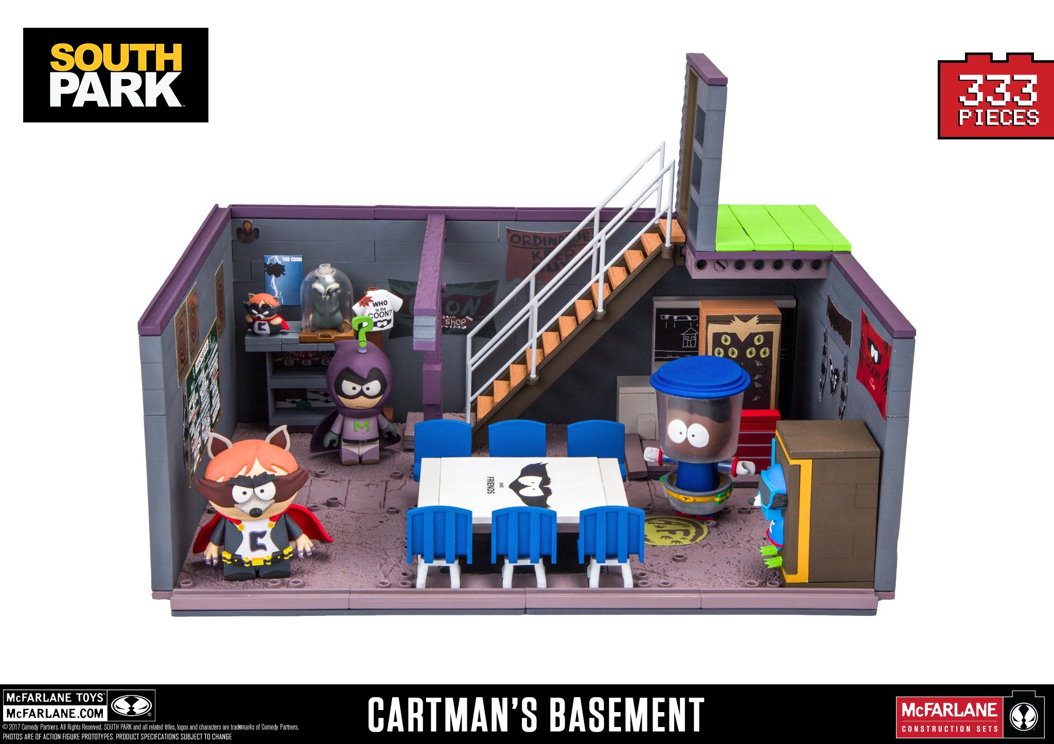 cartman�s basement