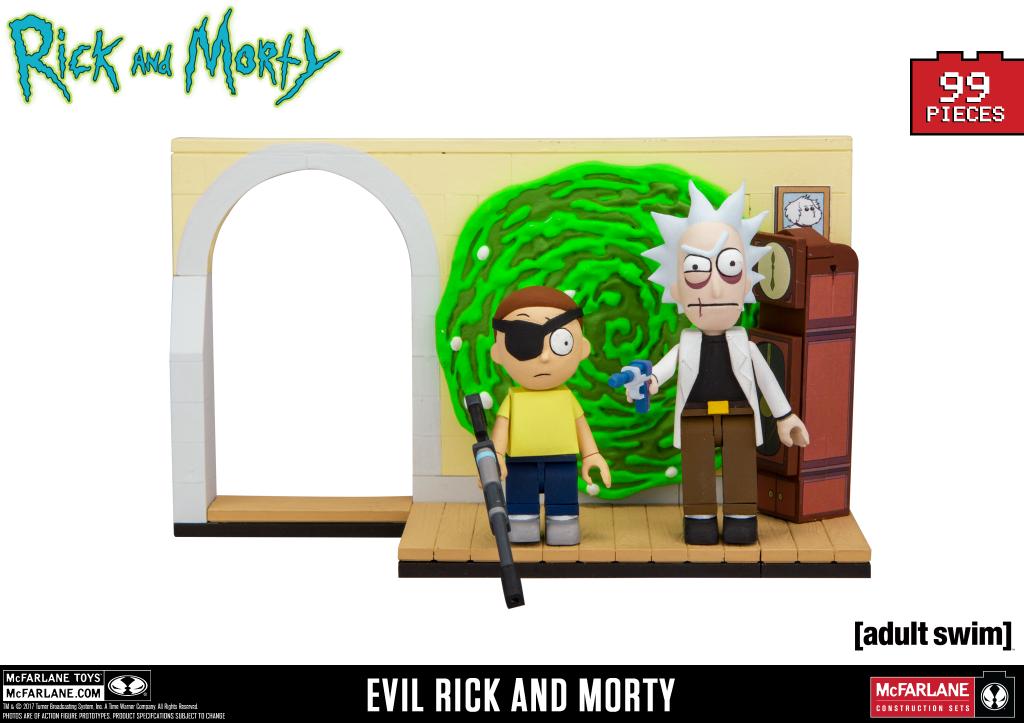 Evil Rick and Morty Slugged