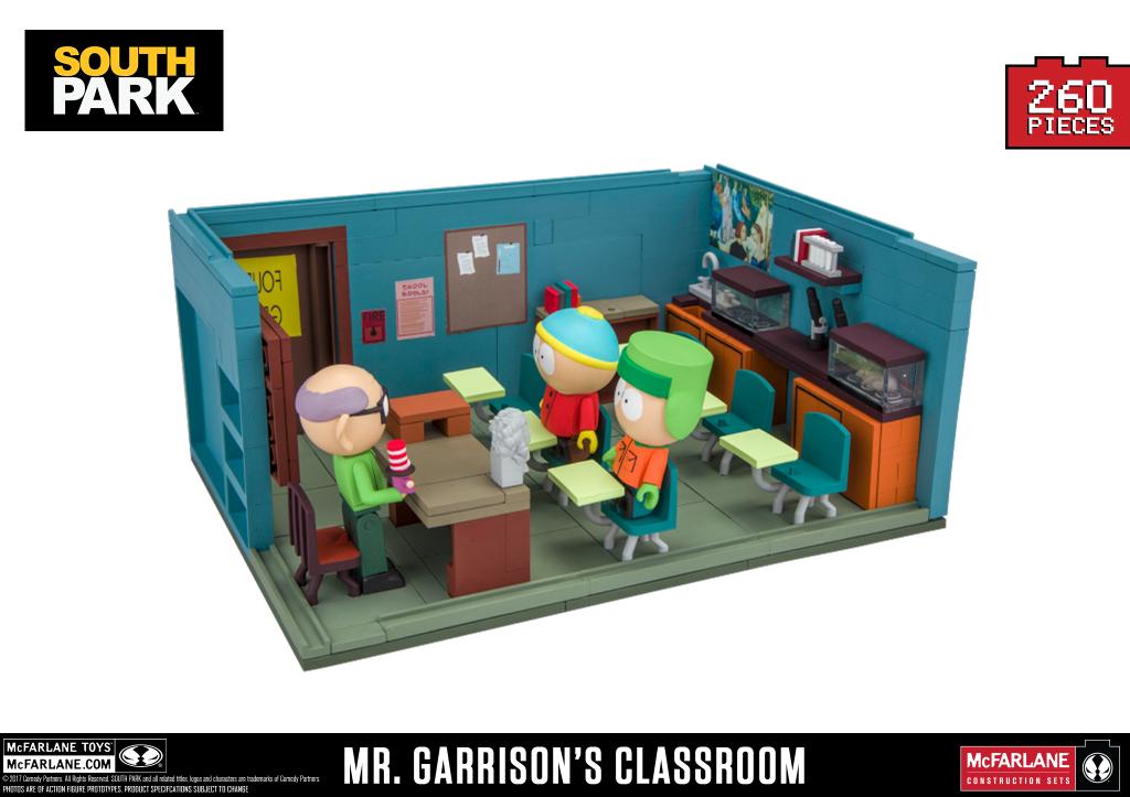 Mr. Garrison's Classroom Slugged