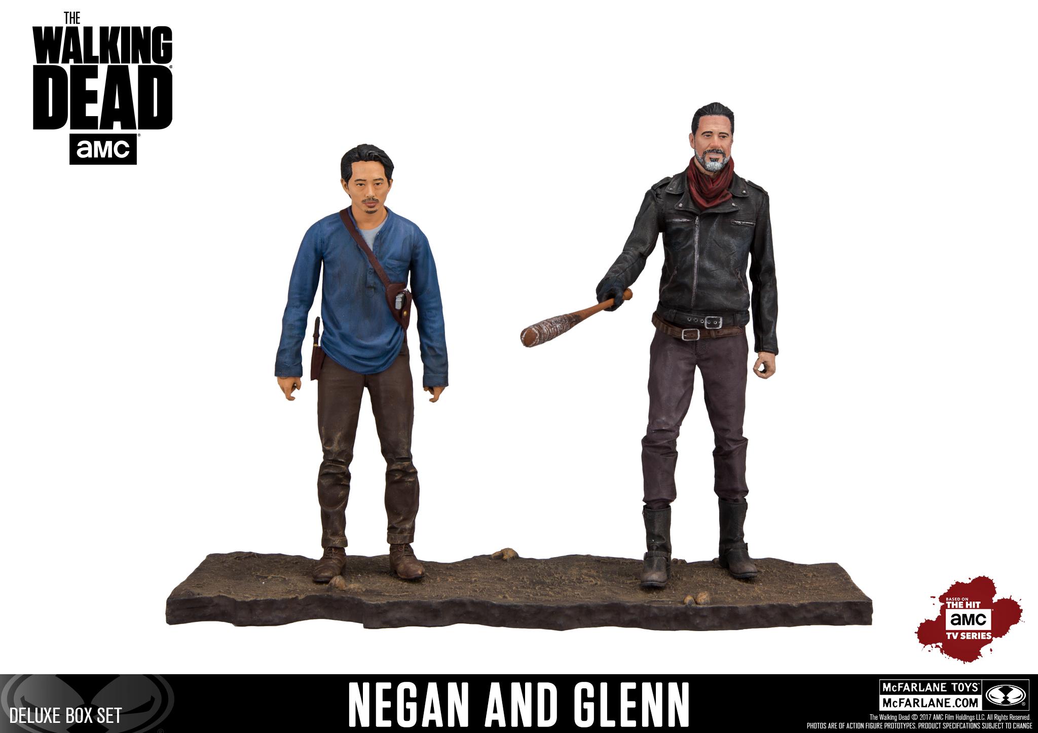 Negan and Glenn slugged