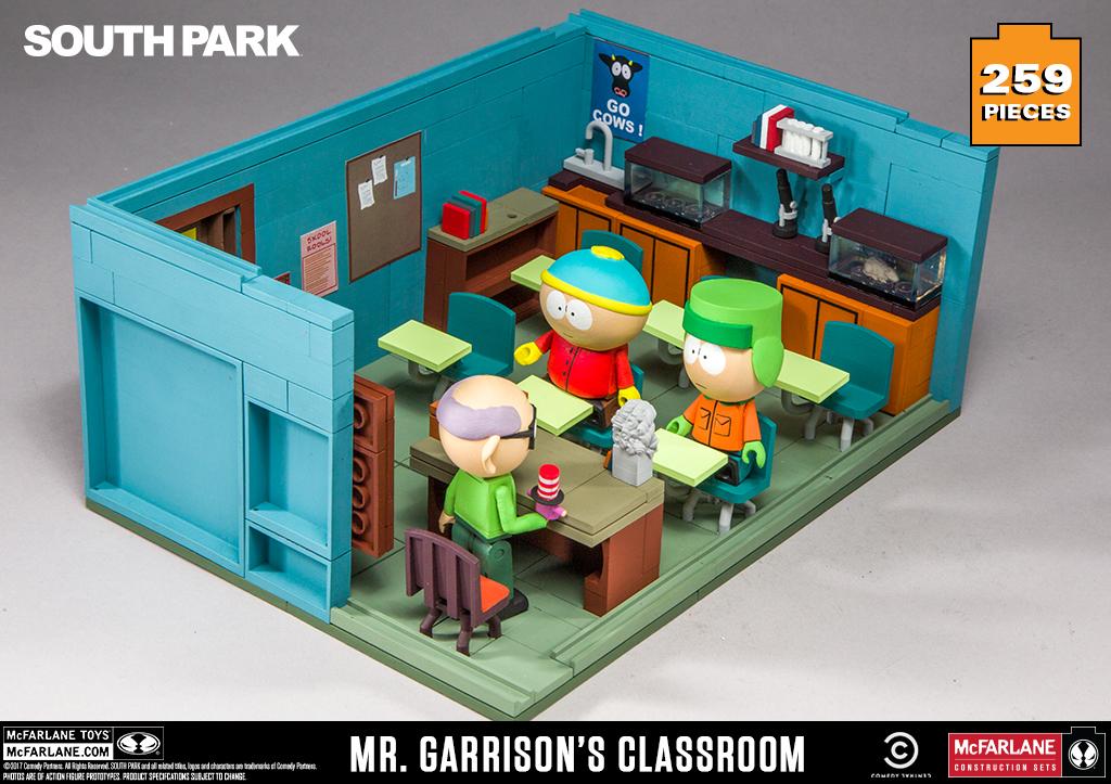 mr garrison s classroom. Black Bedroom Furniture Sets. Home Design Ideas