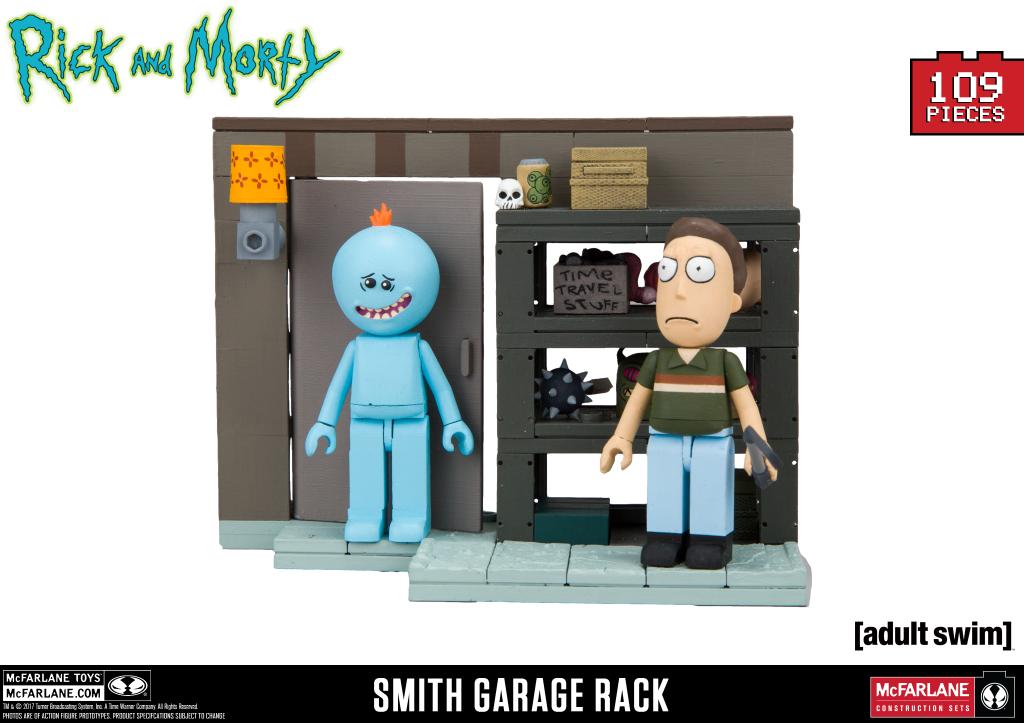 Smith Garage Rack Slugged