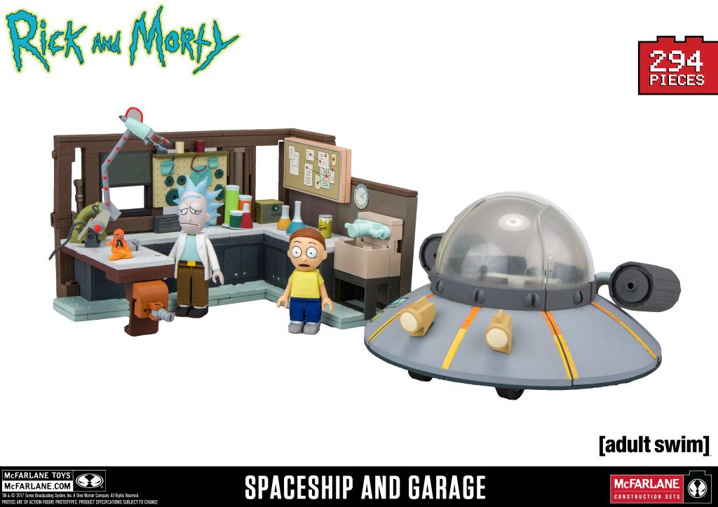 Spaceship and Garage Slugged