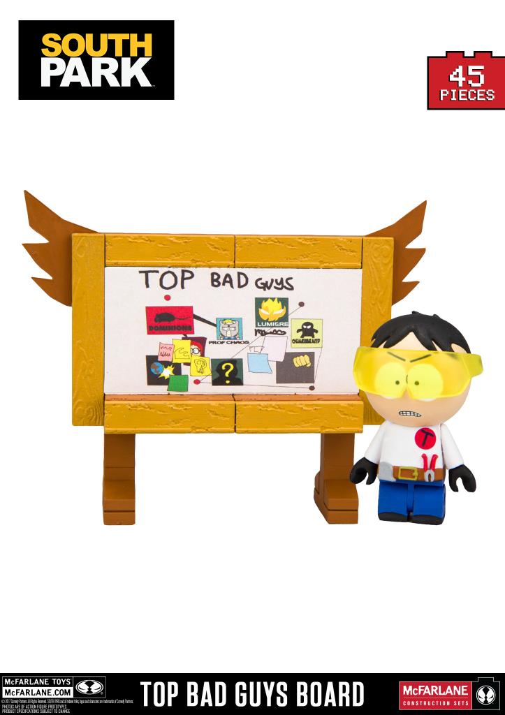 Top Bad Guys Board Slugged