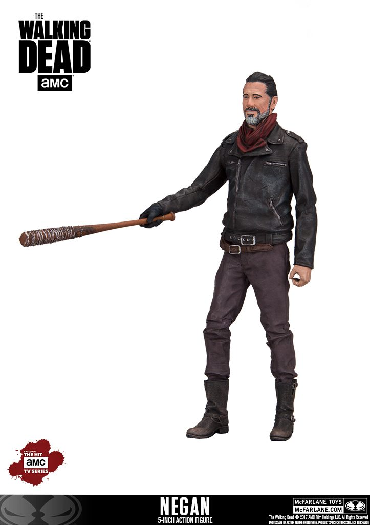 5-Inch Negan slugged