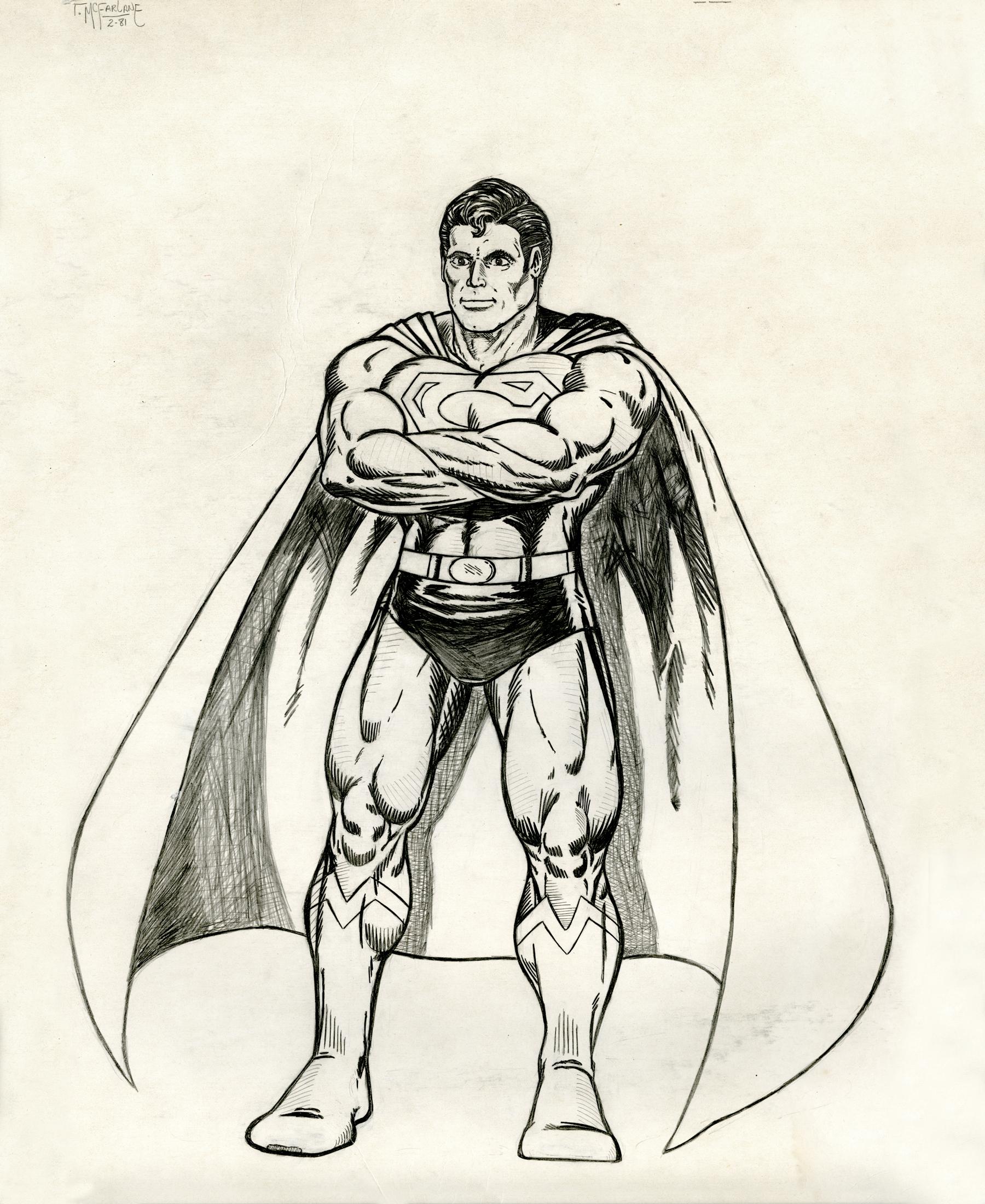 Superman_earlfacey_pencil