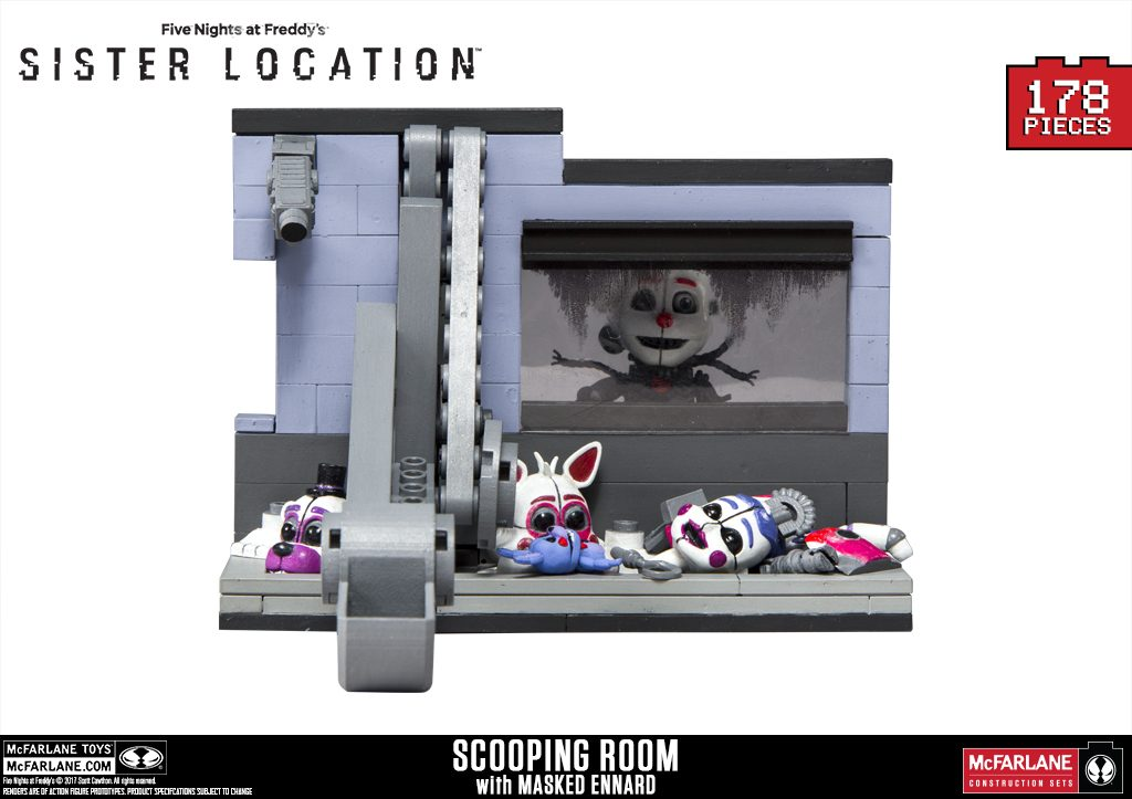 Reveal New Five Nights At Freddy S Construction For