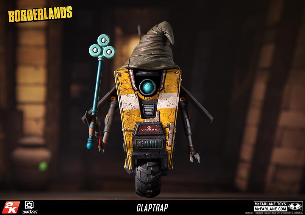 McFarlane Toys Borderlands Claptrap Deluxe Action Figure Box Set