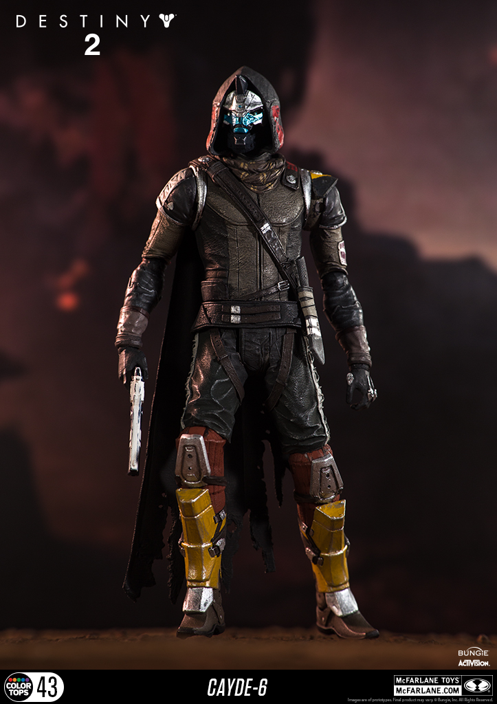 Add this to your ProfileAdded To Your Wish List!Added To Your Collection!Cayde-6Release DateSpecsShare ThisRelated ProductsJoin the amazing world of McFarlane