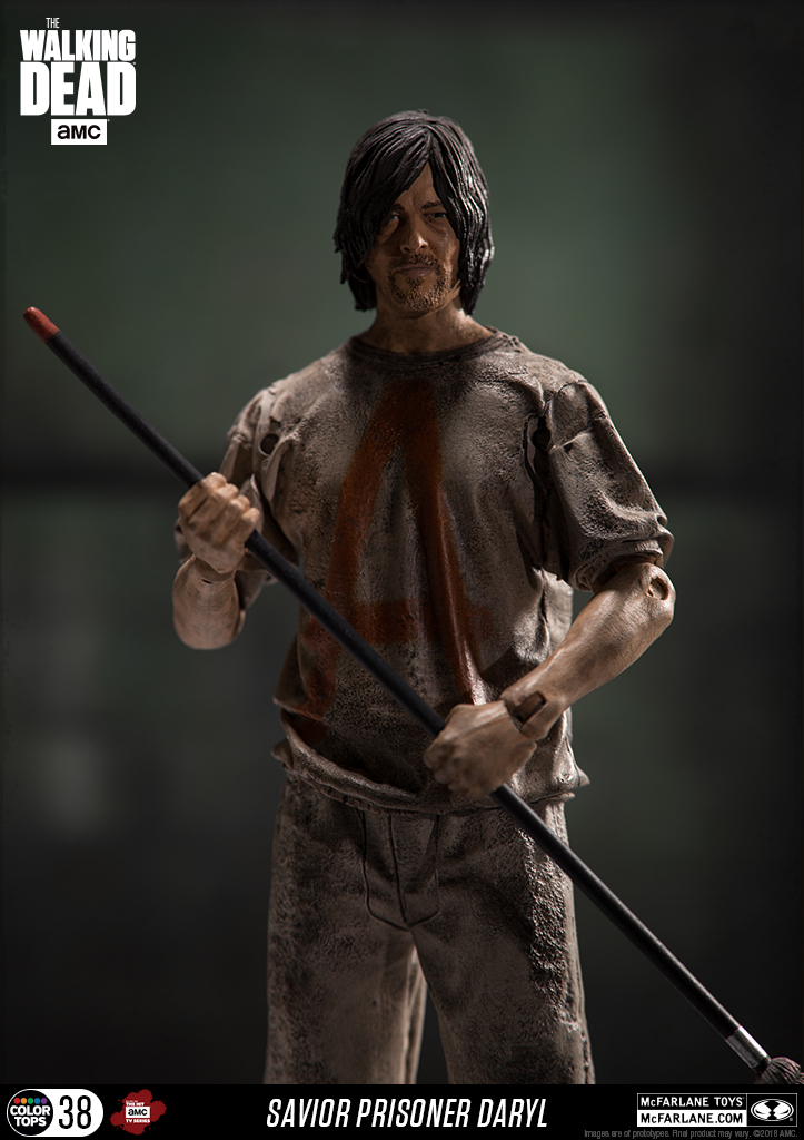 Image result for The Walking Dead Savior Prisoner Daryl 7-Inch Action Figure
