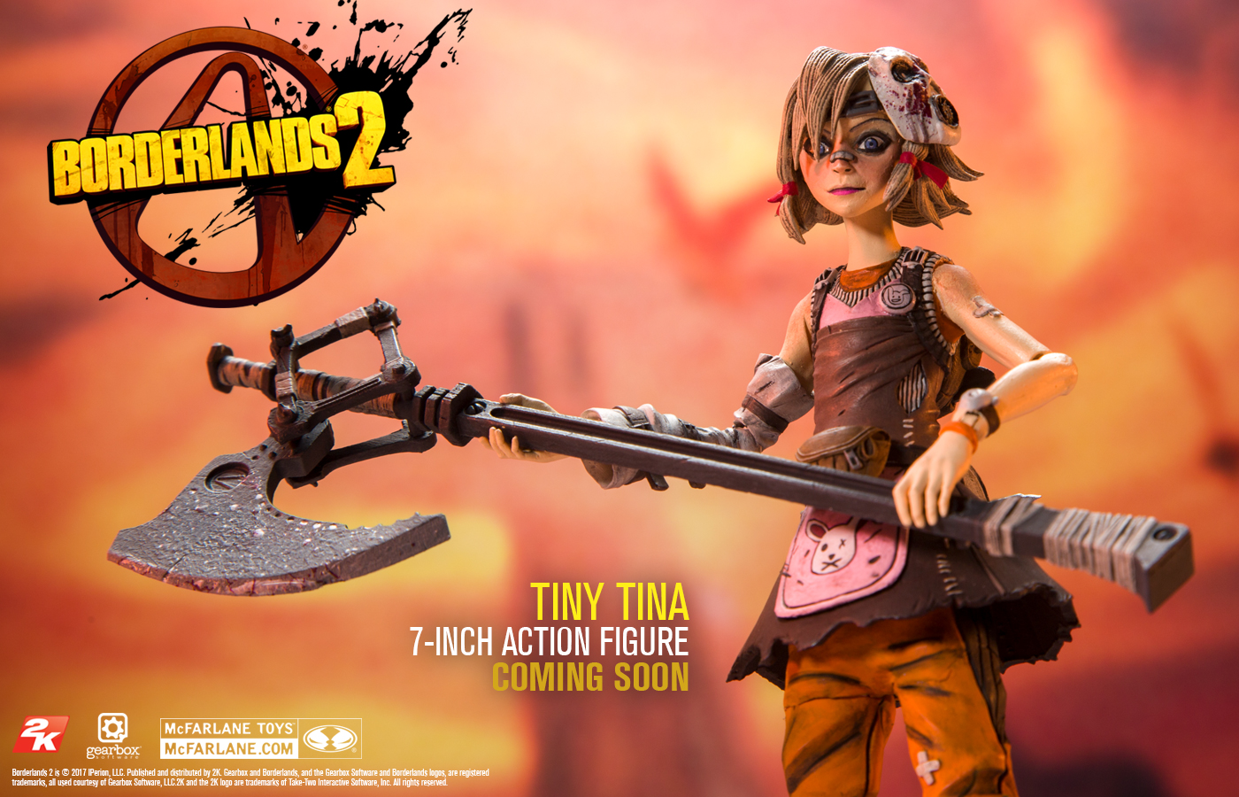 Borderlands 7″ Tiny Tina and Handsome Jack… Coming Soon!