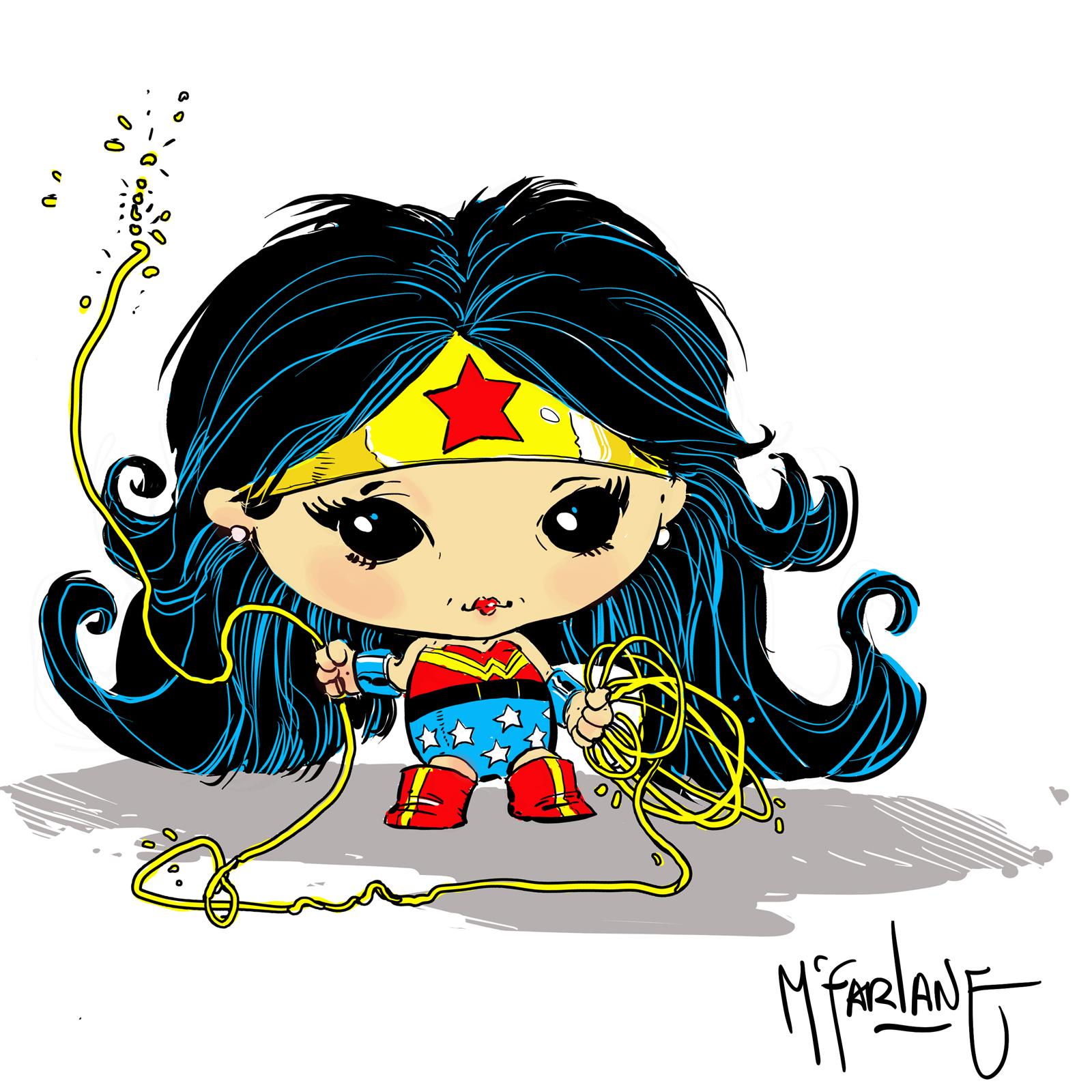Wonder Woman Chibi TWITTER