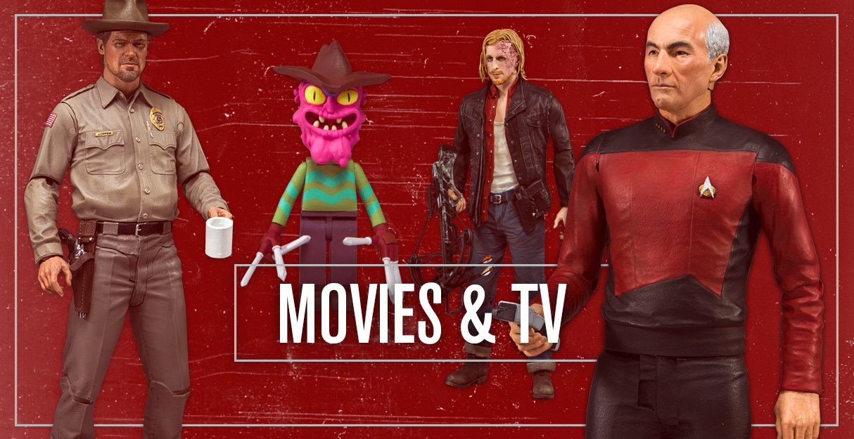 Movies & TV, McFarlane com :: The home all things Todd McFarlane
